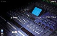 Yamaha DM2000 brochure - fra www.interstage.dk