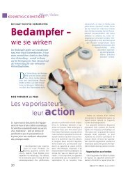 Bedampfer – leur action - Ionto-Comed GmbH