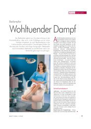 Wohltuender Dampf - Ionto-Comed GmbH