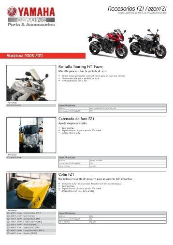 Accesorios FZ1 Fazer/Fz1 - Yamaha Motor Europe