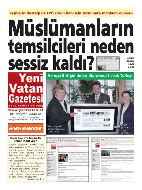 De Bir Ilk Wien At Arta K Yeni Vatan Gazetesi Online