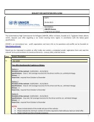 REQUEST FOR QUOTATION (RFQ)