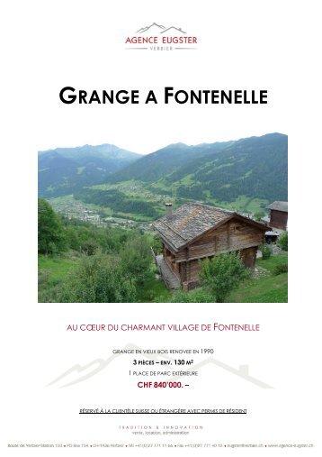 GRANGE A FONTENELLE - Homegate.ch