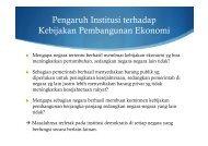 Faktor Institusi dalam Pembangunan Ekonomi - Kumoro.staff.ugm.ac ...