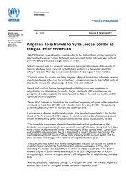 Angelina Jolie travels to Syria-Jordan border as refugee influx ...
