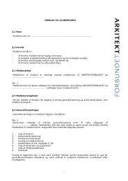 Hent fil (110 Kb) - Arkitektforbundet