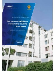 Key recommendations sustainable housing for masses - Naredco