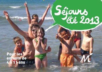 Pour les enfants de 4 à 11 ans - Ville de Montreuil