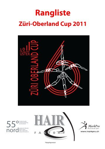 Rangliste P2 / Open / national - KUTU - Obersiggenthal