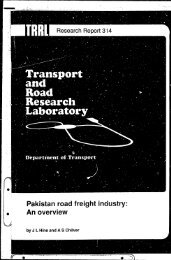 Pakistan road freight industry: An overview - AK Transport Co.