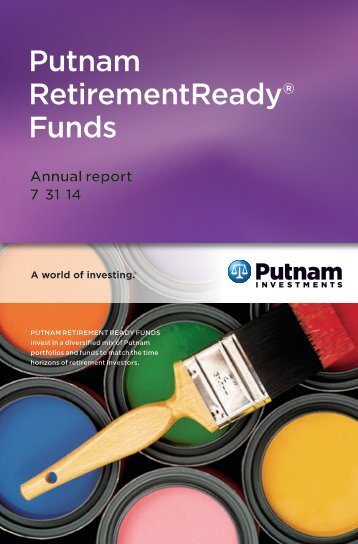 Putnam RetirementReady® Funds - Putnam Investments