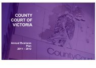 View / Download - County Court of Victoria