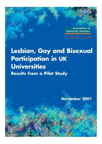 Lesbian, Gay and Bisexual Participation in UK Universities ... - UCU