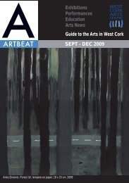 Artbeat Sept - Dec 09.indd - West Cork Arts Centre