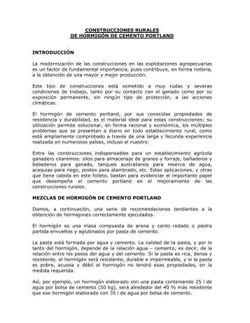 CONSTRUCCIONES RURALES DE HORMIGÓN DE ... - ICPA