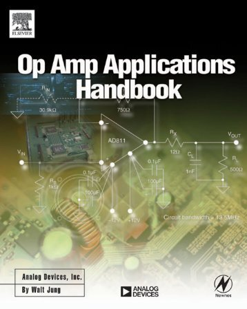 Op Amp Applications Handbook Walt Jung, Editor