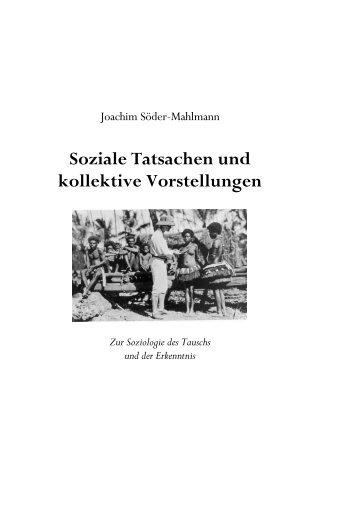 Joachim Söder-Mahlmann - Institut für Soziologie