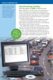 Award-winning CarChip.™ - CarChip DriveRight Online