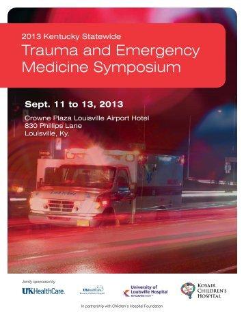 Trauma and Emergency Medicine Symposium