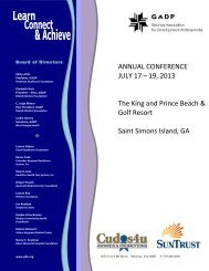 Brochure - Programs & Affiliates - Georgia Hospital Association