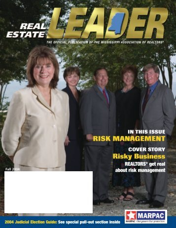 Fall 2004 - Mississippi Association of REALTORS