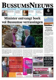 Klik hier om de Bussumse krant van 14 November te downloaden in