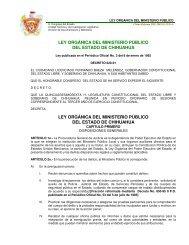 ley orgánica del ministerio público del estado de chihuahua ley ...