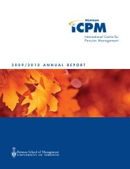 2009/2010 Annual report - International Centre for Pension ...