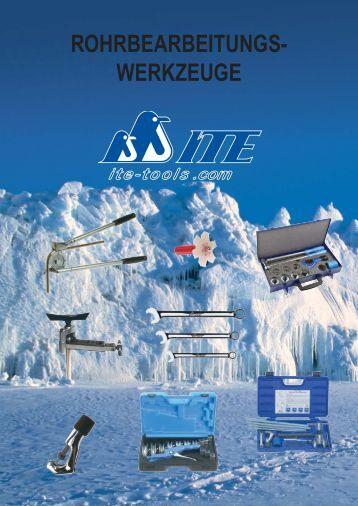 ROHRBEARBEITUNGS- WERKZEUGE - ITE-Tools.com