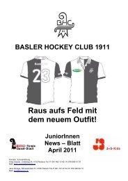 Junioren-News April 2011 A4 Web - Basler HC