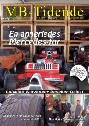 En annerledes Mercedes-tur i 2008 - MB Entusiastklubb