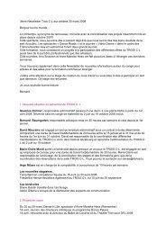News lettre artistes - Le Trois C-L