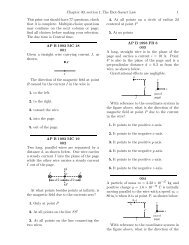 Chapter 30  Sources of the Magnetic Field 30 1 The Biot