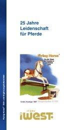 25 Jahre Leidenschaft für Pferde - iWEST