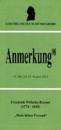 PDF-Download Anmerkung 98 - Goethe-Museum-Düsseldorf