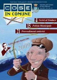 Cose in Comune Anno XXV – n° 4 - Sasso Marconi Blog