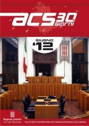giugno 2012 - Consiglio Regionale dell'Umbria - Regione Umbria