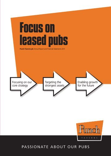 Punch Taverns plc 2011 Annual Report