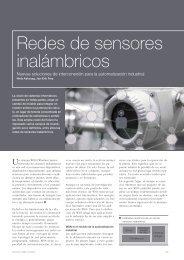 Redes de sensores inalámbricos