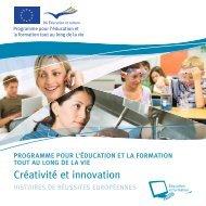 Créativité et Innovation - Europa