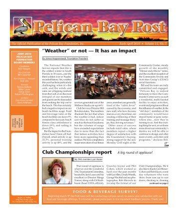 Early April 2010 - Pelican Bay