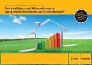 Energieeffizienz und Wärmedämmung. Energetische Gebäudehüllen für ...
