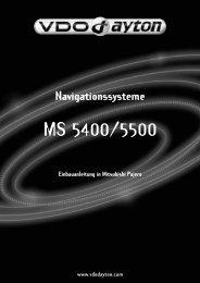 MI Navigationssysteme 5400-5500 Mitsubishi Pajero, D 2 ... - jewuwa