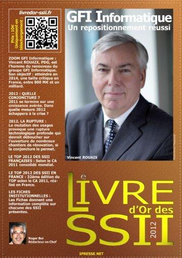 Livre d'or des SSII 2012 - GFI Informatique