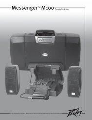 Messenger™ M100Portable PA System - Peavey
