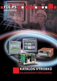 katalog výrobků - FCC průmyslové systémy sro