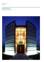 Ruskin Library Lancaster University - MJP Architects