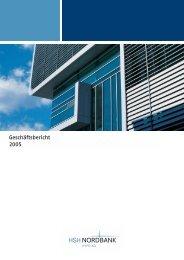 Geschäftsbericht 2005 - HSH Nordbank AG