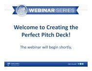 Welcome to Creating the Perfect Pitch Deck! - Greater Louisville Inc