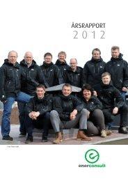 Årsrapport Enerconsult 2012